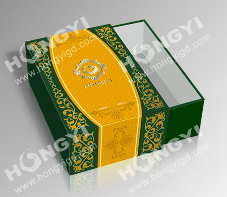 Cardboard+Printting Paper+EVA/Satin Perfume Gift Packaging Box