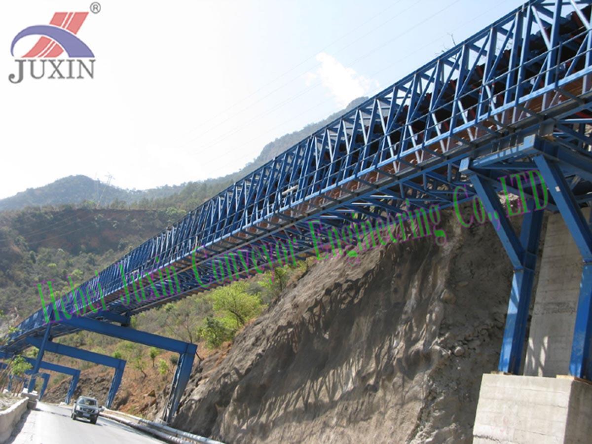 Belt Conveyor for Iron Steel, Mine, Cement Plant