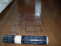 PE Protective Film for Hard Floor (QD-904) pictures & photos