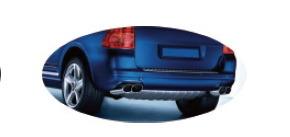 Rear Skid Plate for Porsche Cayenne ′04-′10 (DF-PC-002)